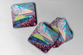 dean court Coaster set of four